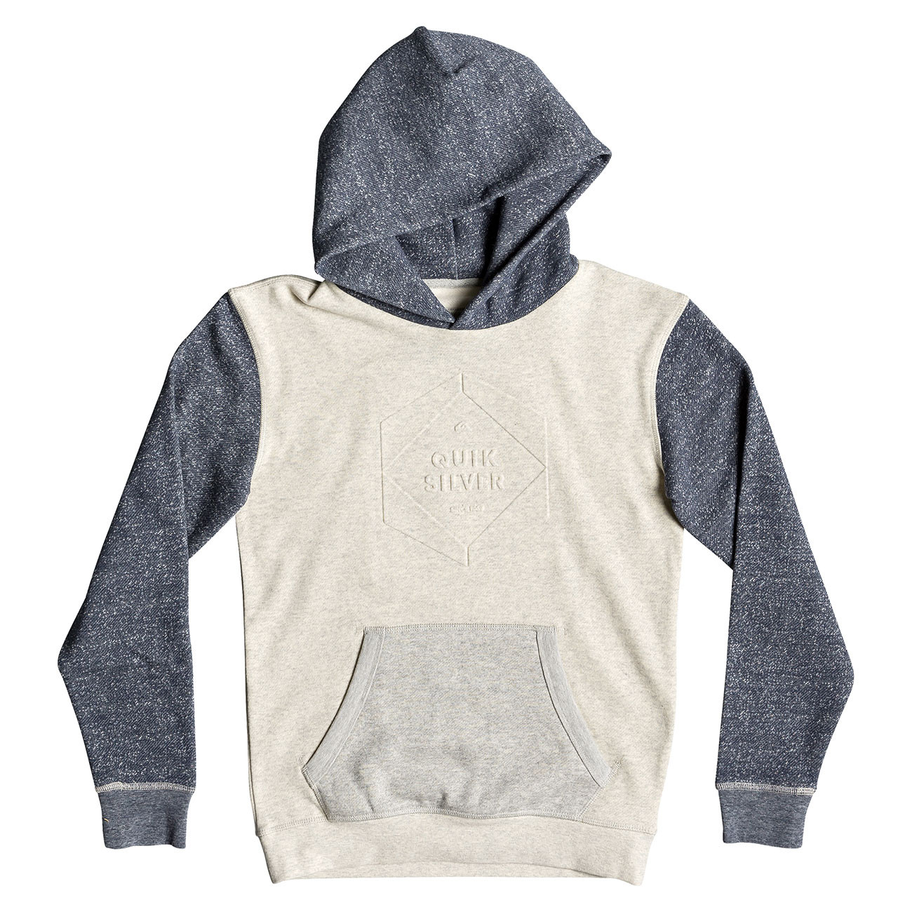 Hoodie Quiksilver Global Grasp Hood Youth snow white heather ... 29e1d07248c