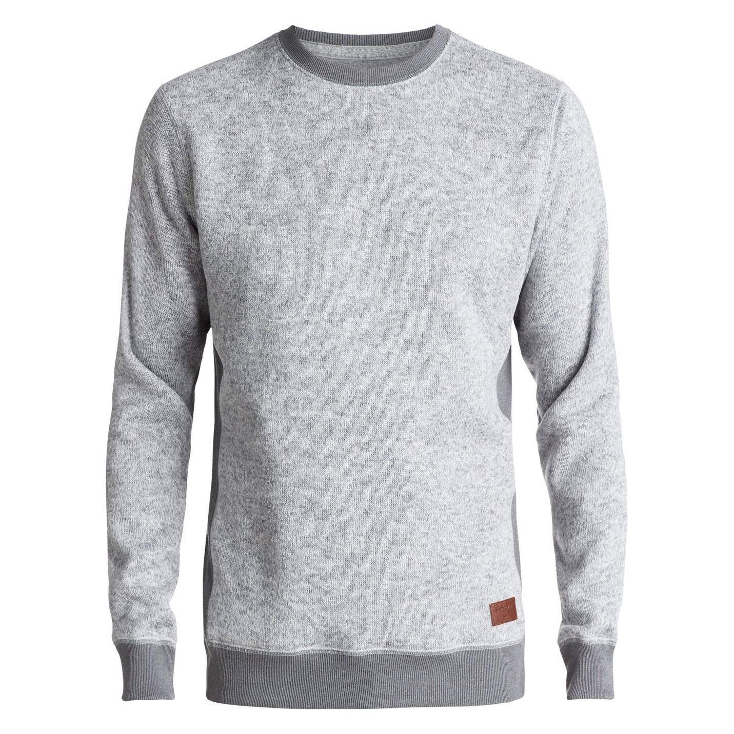 Mikina Quiksilver Keller Crew light grey heather