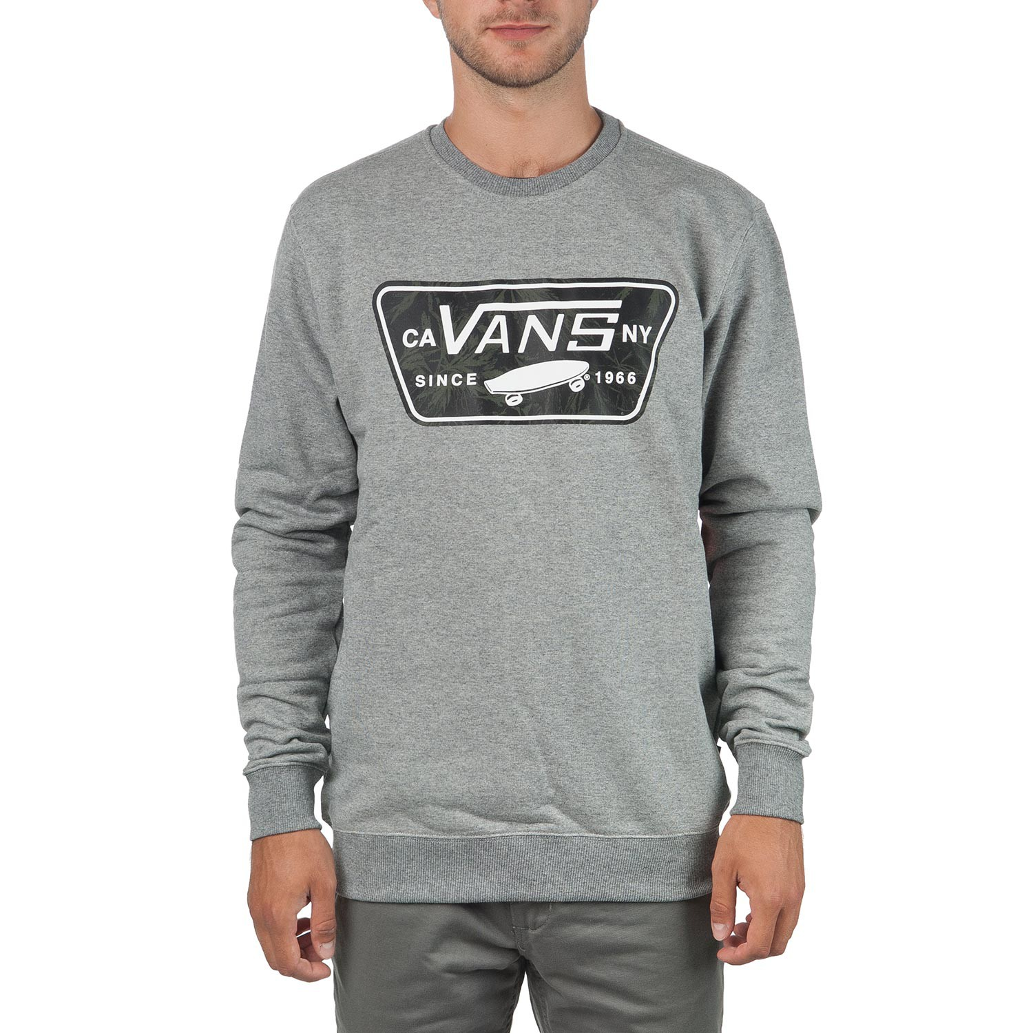 Mikina Vans Burkett concrete heather