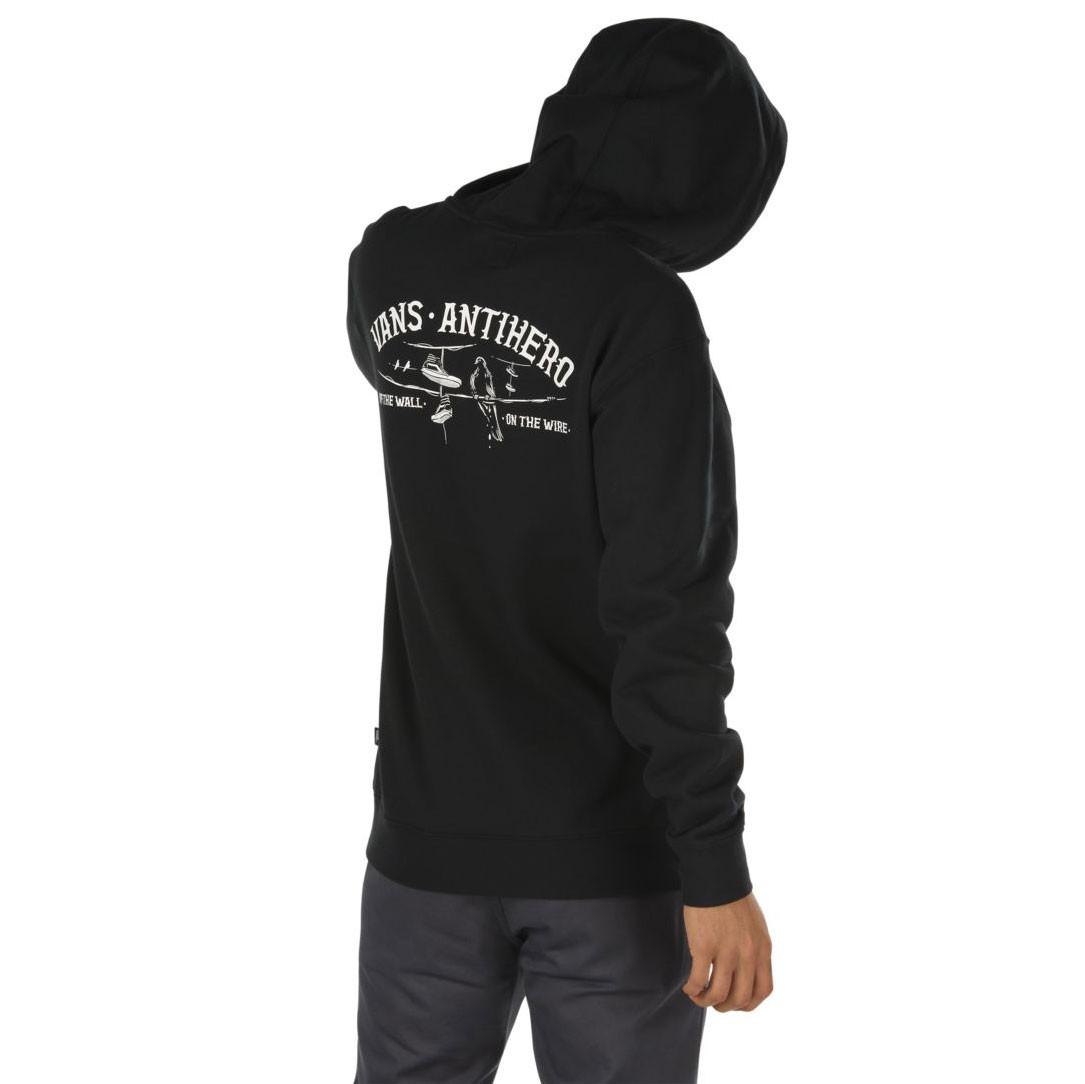 6cc3f72be Mikina Vans Vans X Antihero Wired Po black | Snowboard Zezula