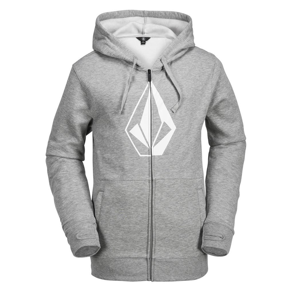 Mikina Volcom Stone Zip Fleece heather grey