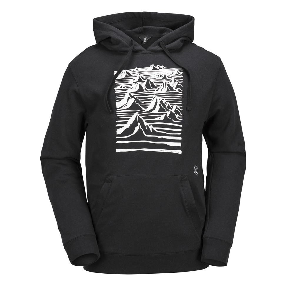 Mikina Volcom Team Art Fleece black