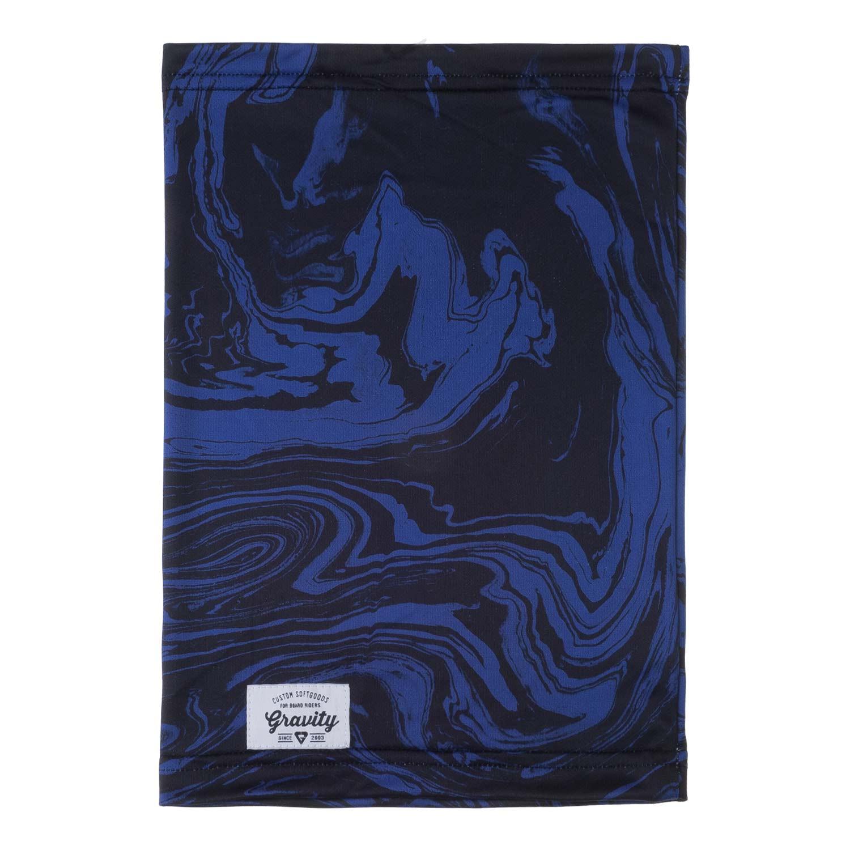 Nákrčník Gravity Swirl black/deep blue