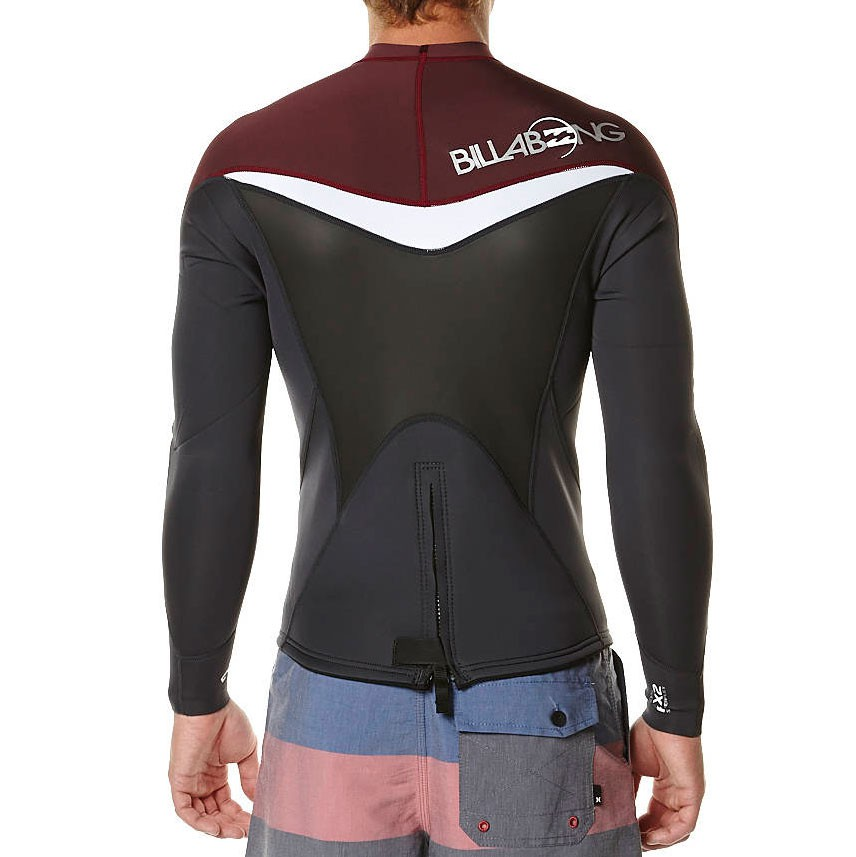 Billabong Foil 2Mm L s Jacket blood  5fede4c35
