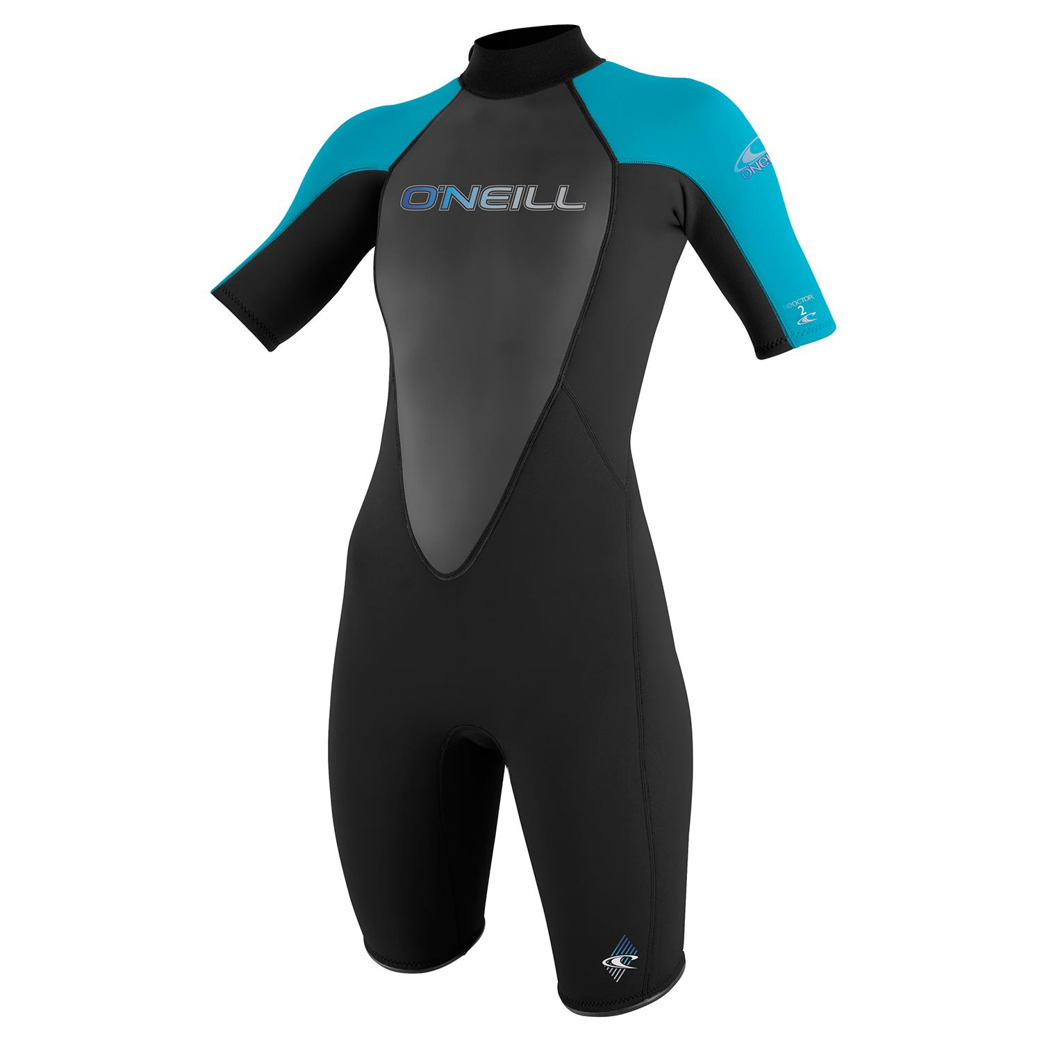 Neoprén O'Neill Wms Reactor 2mm S/S Spring black/turquoise/black
