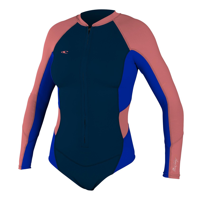Neoprén O'Neill Wms Superlite L/s High Cut Spring slate/tahitian blue/coral