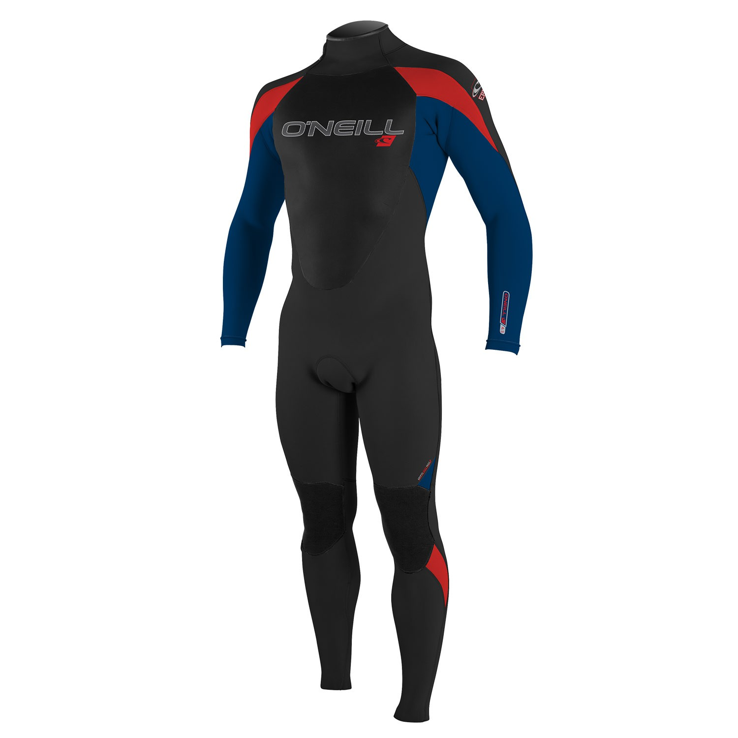 Neoprén O'Neill Youth Epic 4/3 Full black/deepsea/red