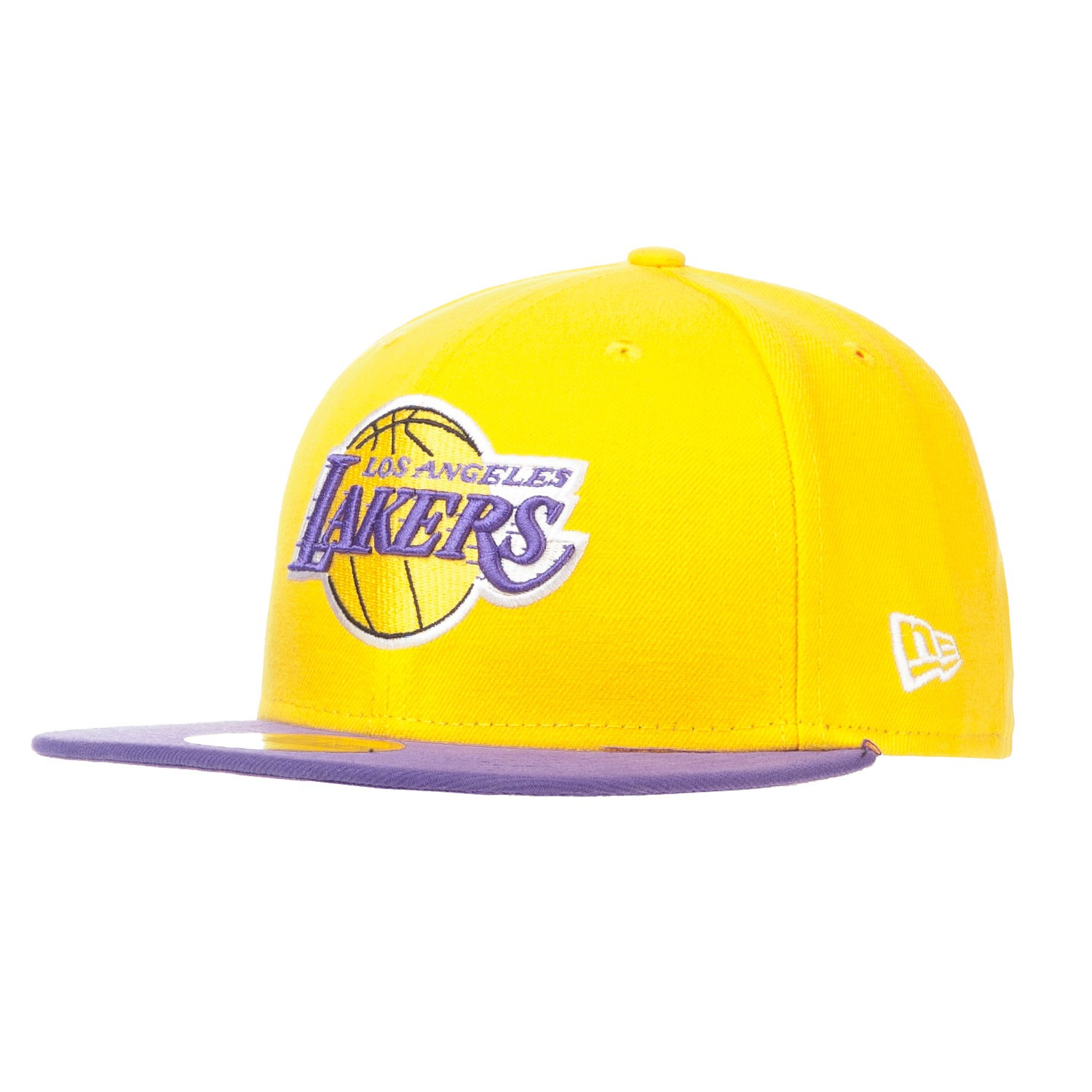 Kšiltovka New Era Los Angeles Lakers 59Fif Basic yellow/purple
