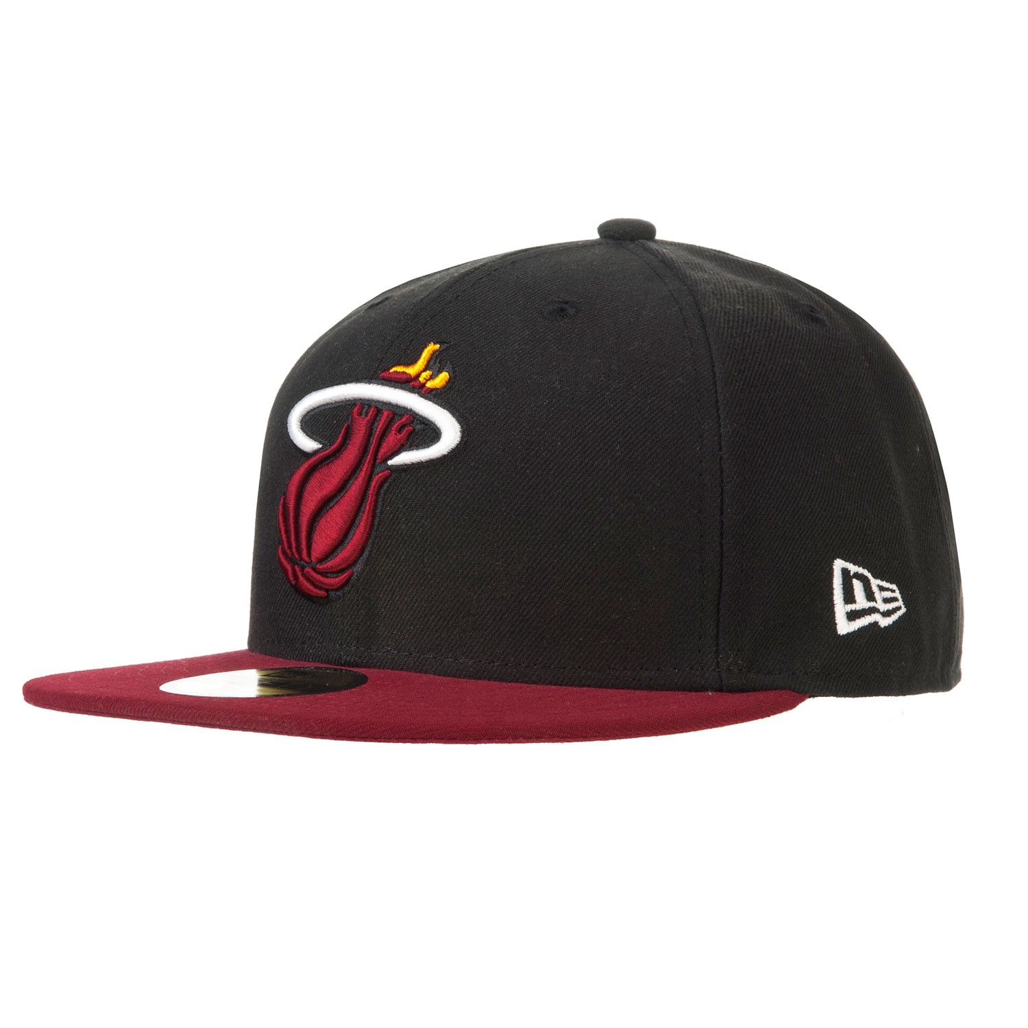 Kšiltovka New Era Miami Heat 59Fifty Basic black/red