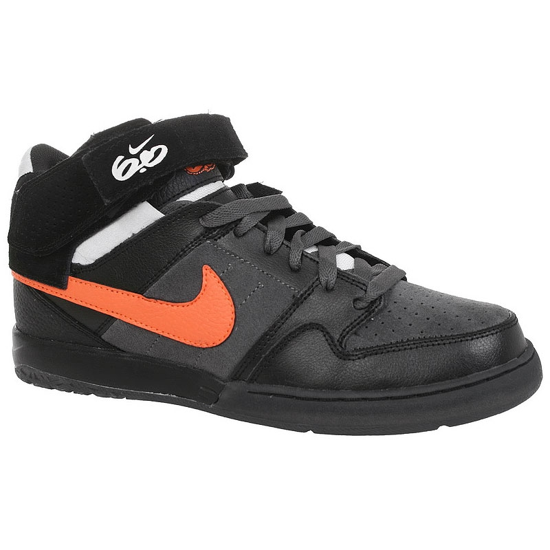 Nike 6.0 Zoom Mogan Mid 2 black to. orange  530f15cfcc40