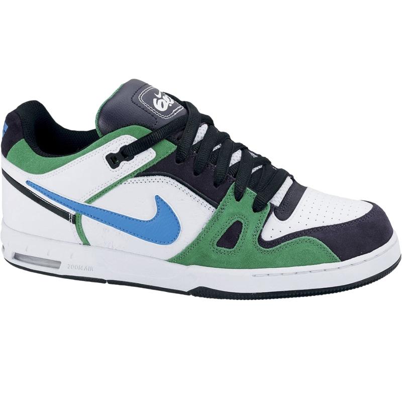 on sale 28549 974ef Nike 6.0 Zoom Oncore 2 white blue-green   Snowboard Zezula