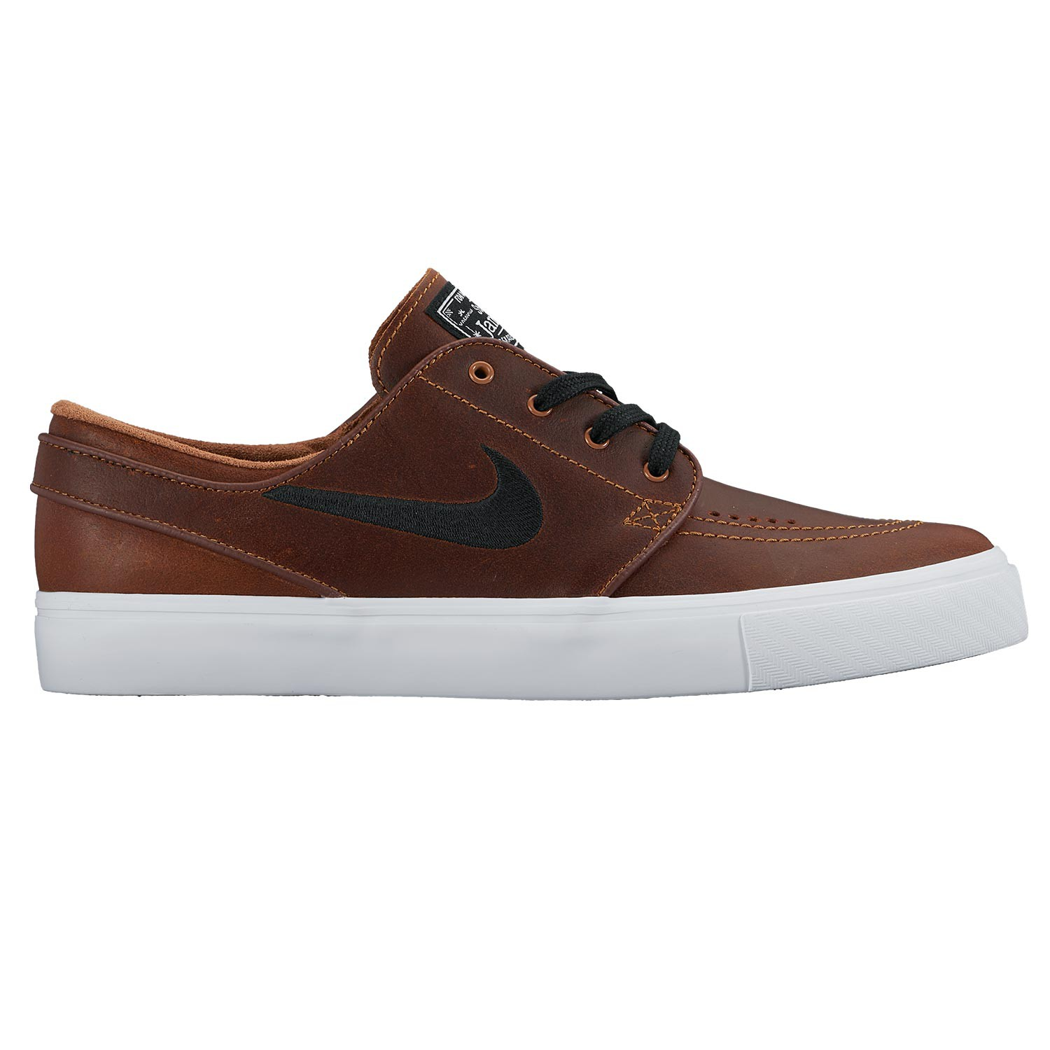 Tenisky Nike SB Air Zoom Stefan Janoski Elite ale brown/black-white