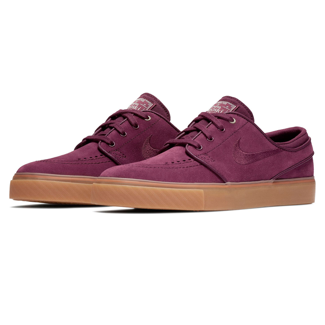 sneakers nike sb air zoom stefan janoski nght maroon nght. Black Bedroom Furniture Sets. Home Design Ideas