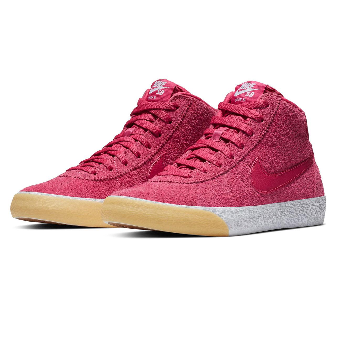 identificación República extinción  Sneakers Nike SB Bruin Hi rush pink/rush pink-gum yellow-w | Snowboard  Zezula