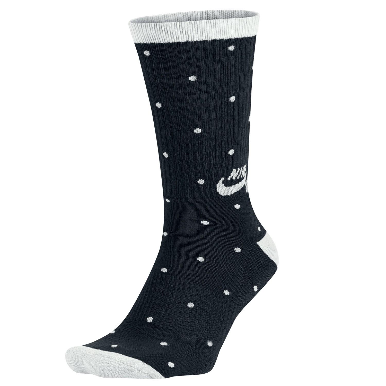 Ponožky Nike SB Dot Crew black/white