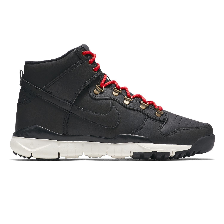 Tenisky Nike SB Dunk High black/black-sail-ale brown