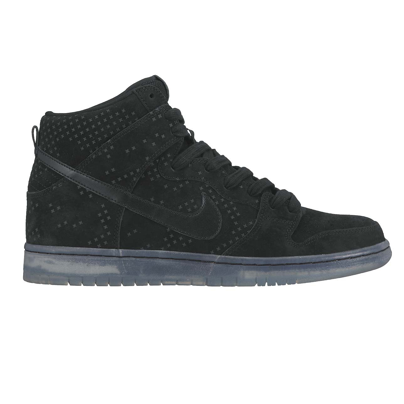 outlet store 473c0 72418 Nike SB Dunk High Premium Flash black black-clear   Snowboard Zezula
