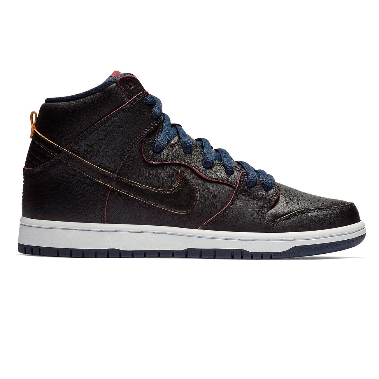 Tenisky Nike SB Dunk High Pro NBA black black-college navy-team rd ... daf5eb3007