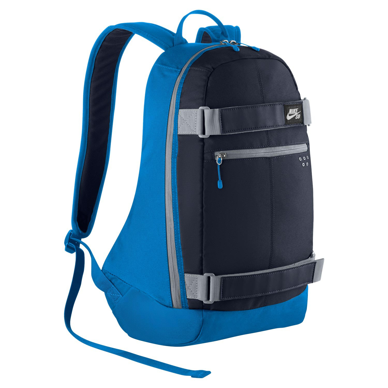 Batoh Nike SB Embarca Medium photo blue/obsidian/wolf grey