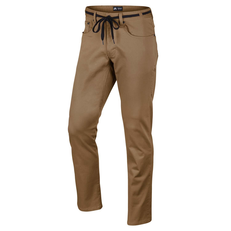 Kalhoty Nike SB Ftm 5 Pocket ale brown vel.30 17 + doručení do 24 hodin