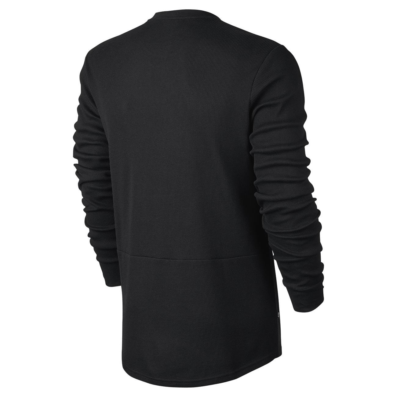 Hoodie Nike Sb Long Sleeve Thermal Black Black Snowboard