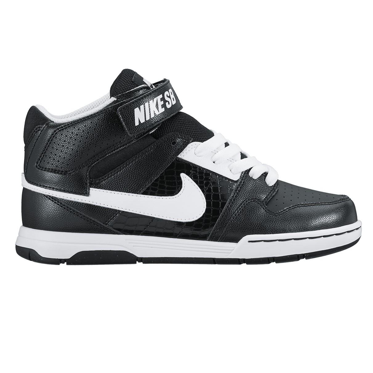 Tenisky Nike SB Mogan Mid 2 Jr black/white-black