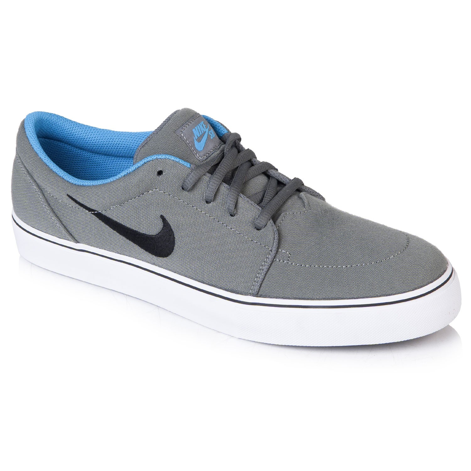 huge discount a1c56 85d94 ... clearance nike sb satire canvas grey and blue 89846 77620