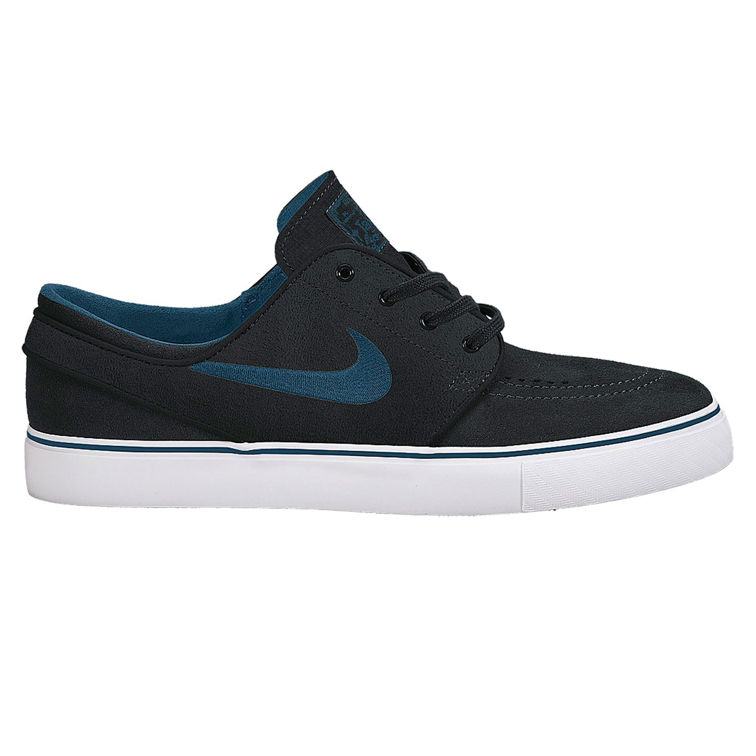 nike sb zoom stefan janoski black blue force white snowboard zezula. Black Bedroom Furniture Sets. Home Design Ideas