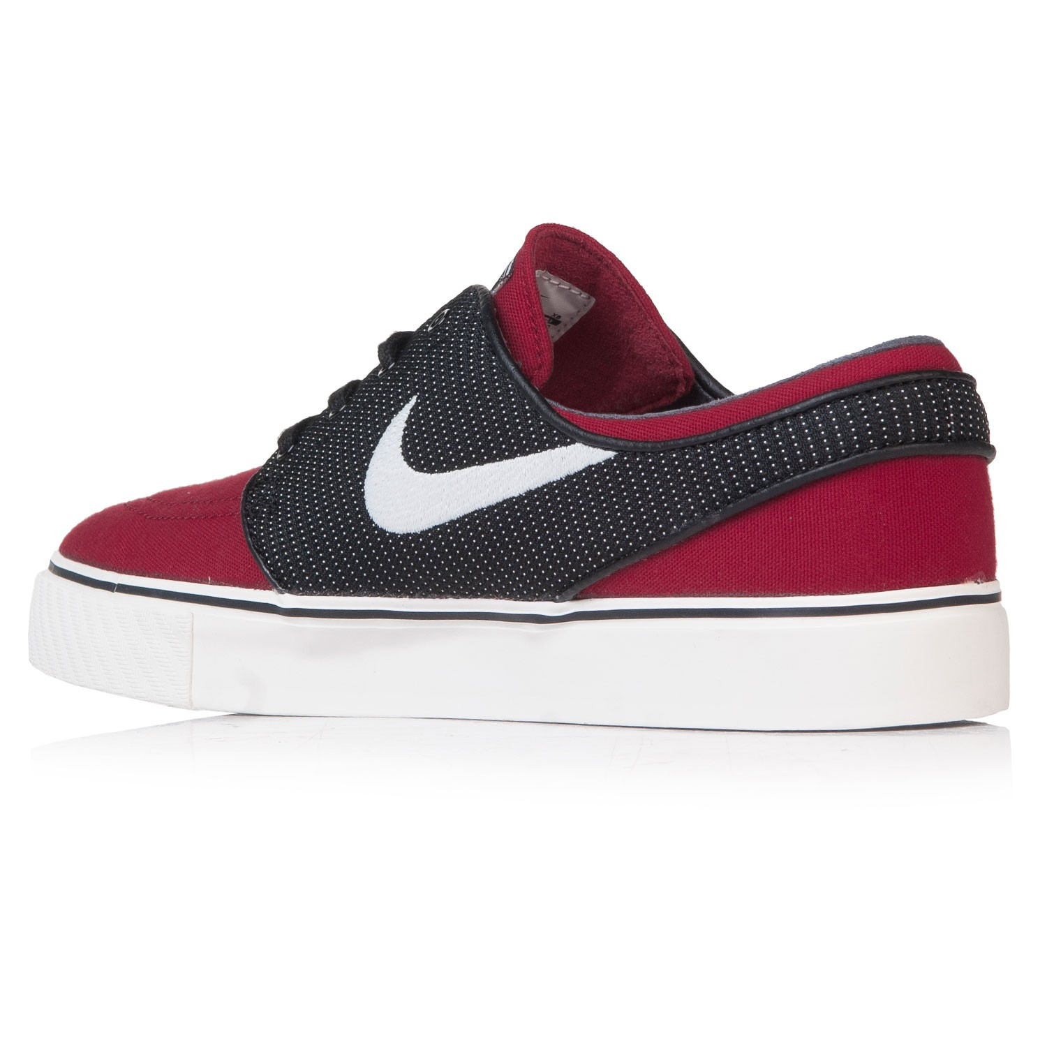Red And Black Nike Skate Shoes