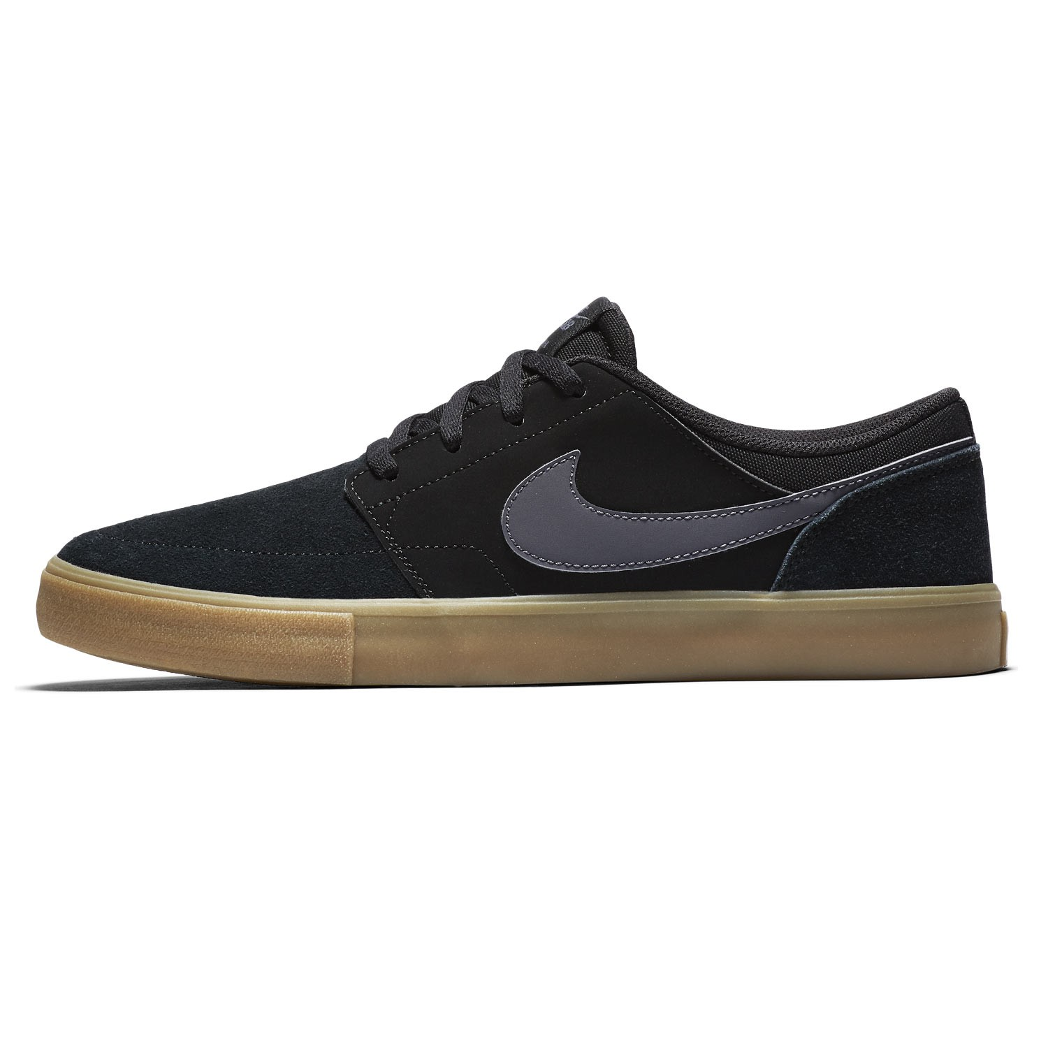 sneakers nike sb solarsoft portmore ii black dark grey gum light brown snowboard zezula. Black Bedroom Furniture Sets. Home Design Ideas