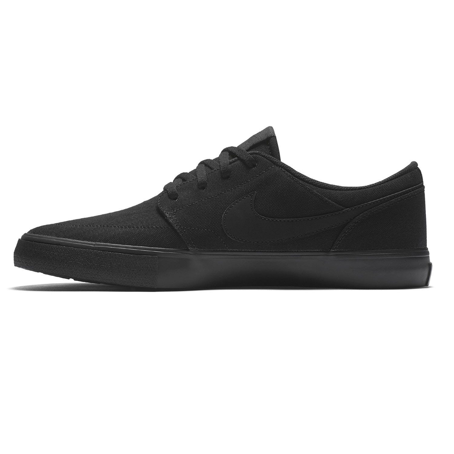 sneakers nike sb solarsoft portmore ii canvas black black snowboard zezula. Black Bedroom Furniture Sets. Home Design Ideas