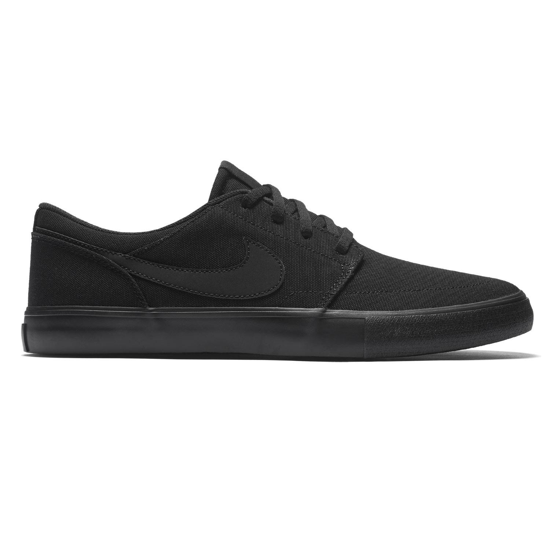 Tenisky Nike SB Solarsoft Portmore Ii Canvas black/black