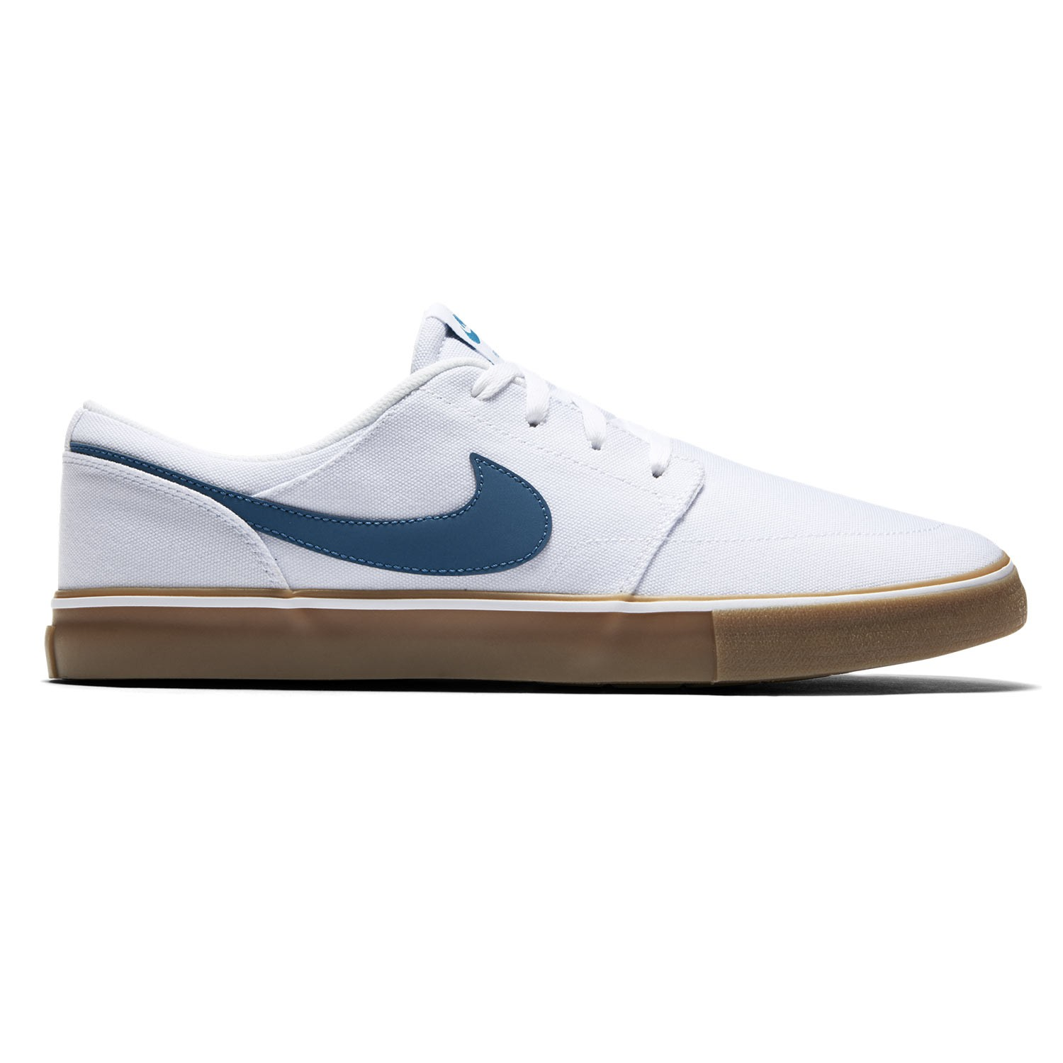 Tenisky Nike SB Solarsoft Portmore Ii Canvas white/industrial blue-brown