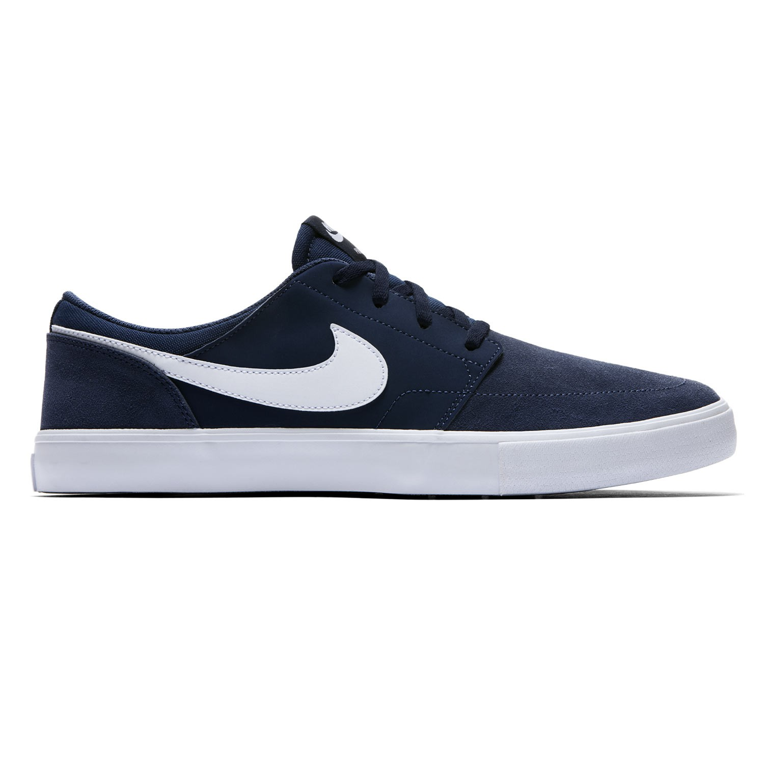 tenisky nike sb solarsoft portmore ii midnight navy white black snowboard zezula. Black Bedroom Furniture Sets. Home Design Ideas