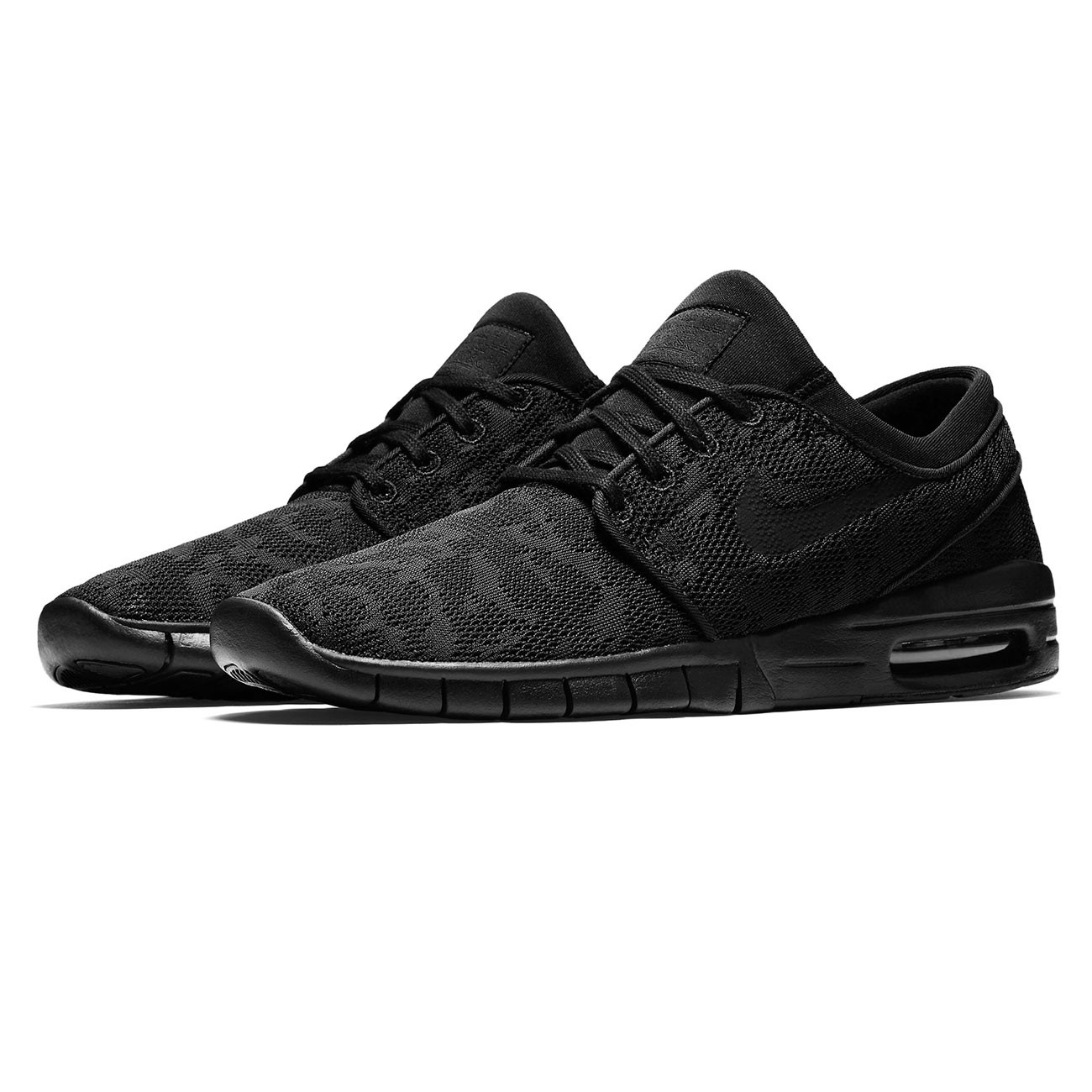 sneakers nike sb stefan janoski max black black anthracite. Black Bedroom Furniture Sets. Home Design Ideas