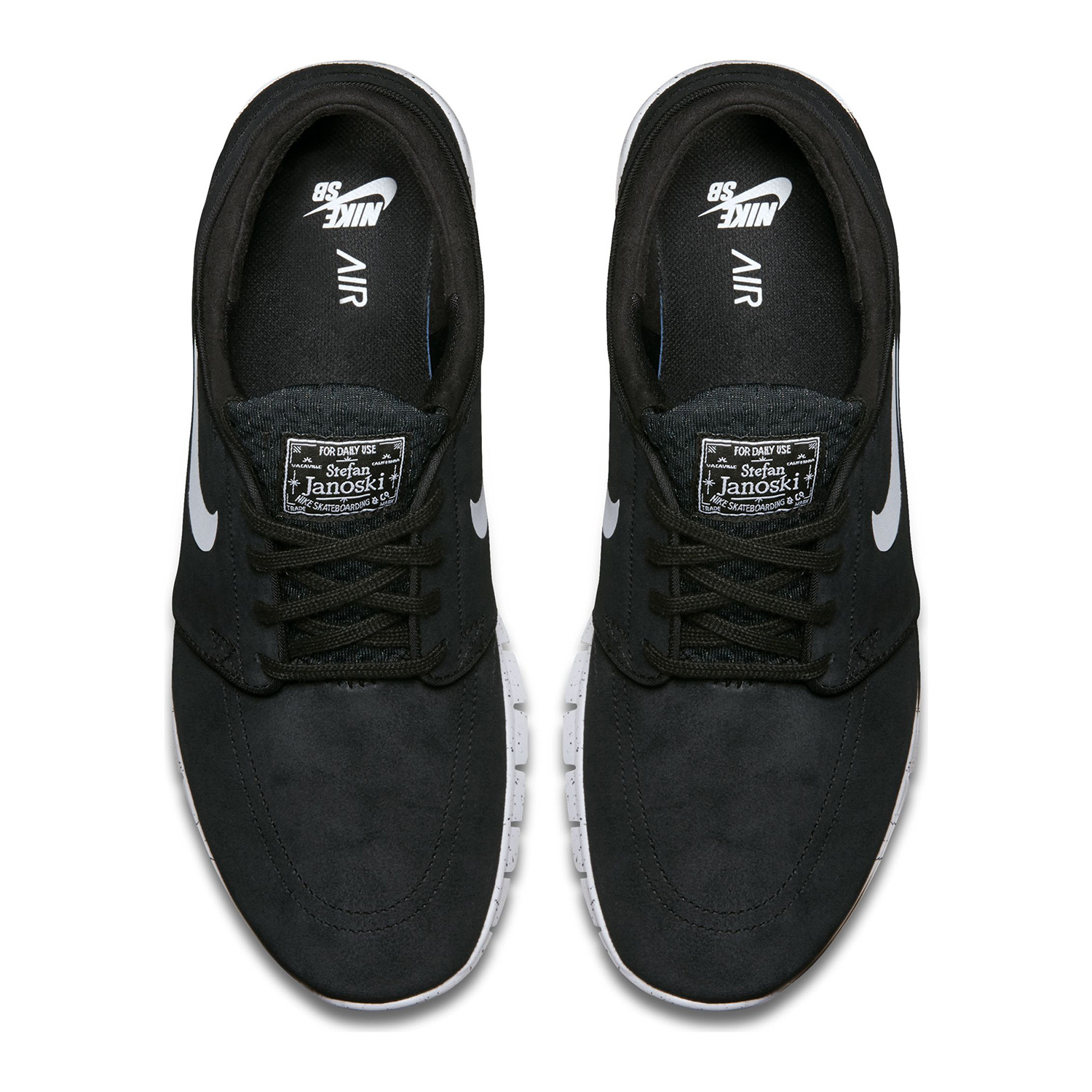 7c41e53c928a Sneakers Nike SB Stefan Janoski Max Leather black white