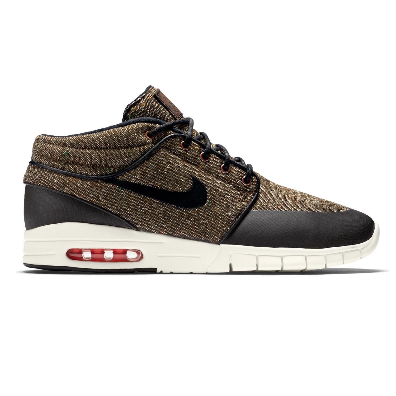 Tenisky Nike SB Stefan Janoski Max Mid baroque brown/bl-lsr crmsn-sl