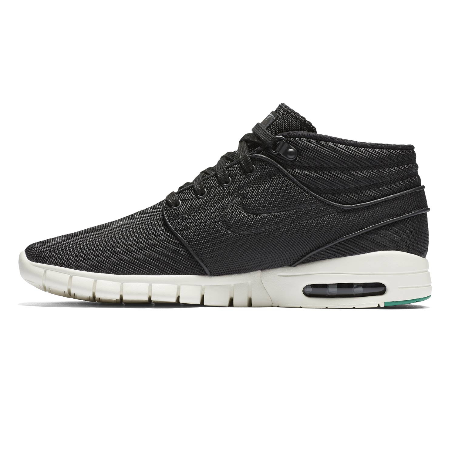 sneakers nike sb stefan janoski max mid black black. Black Bedroom Furniture Sets. Home Design Ideas