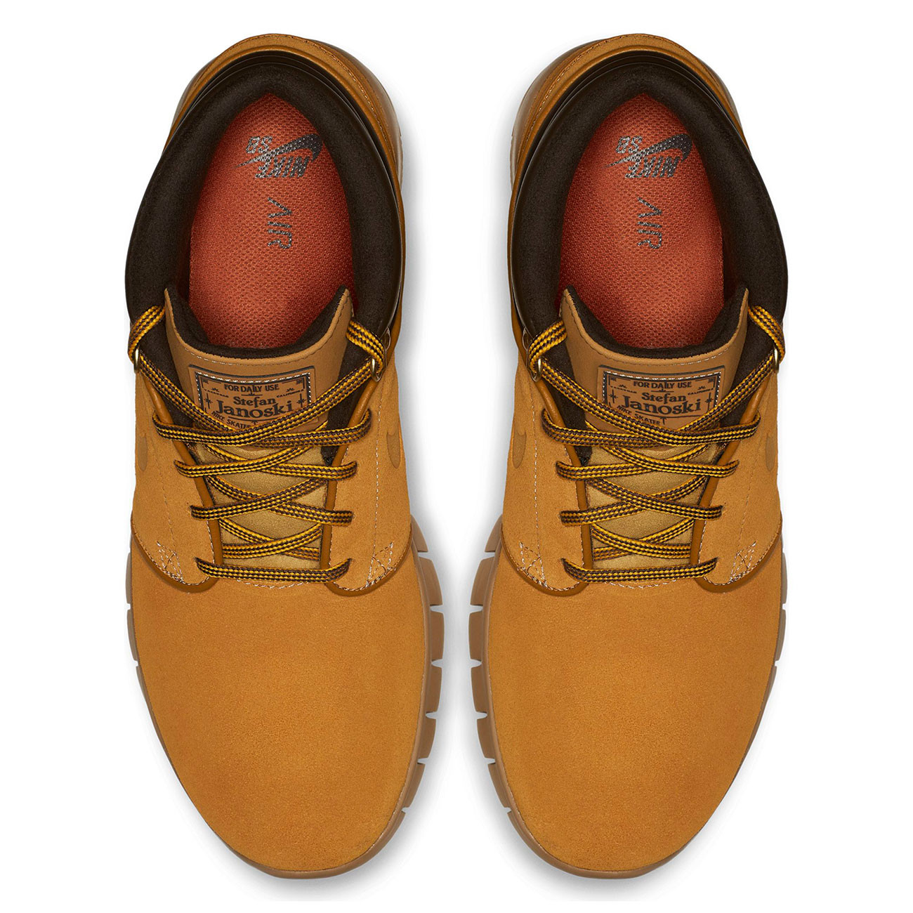 finest selection 4d902 4561a Sneakers Nike SB Stefan Janoski Max Mid Premium bronze/bronze-gum ...