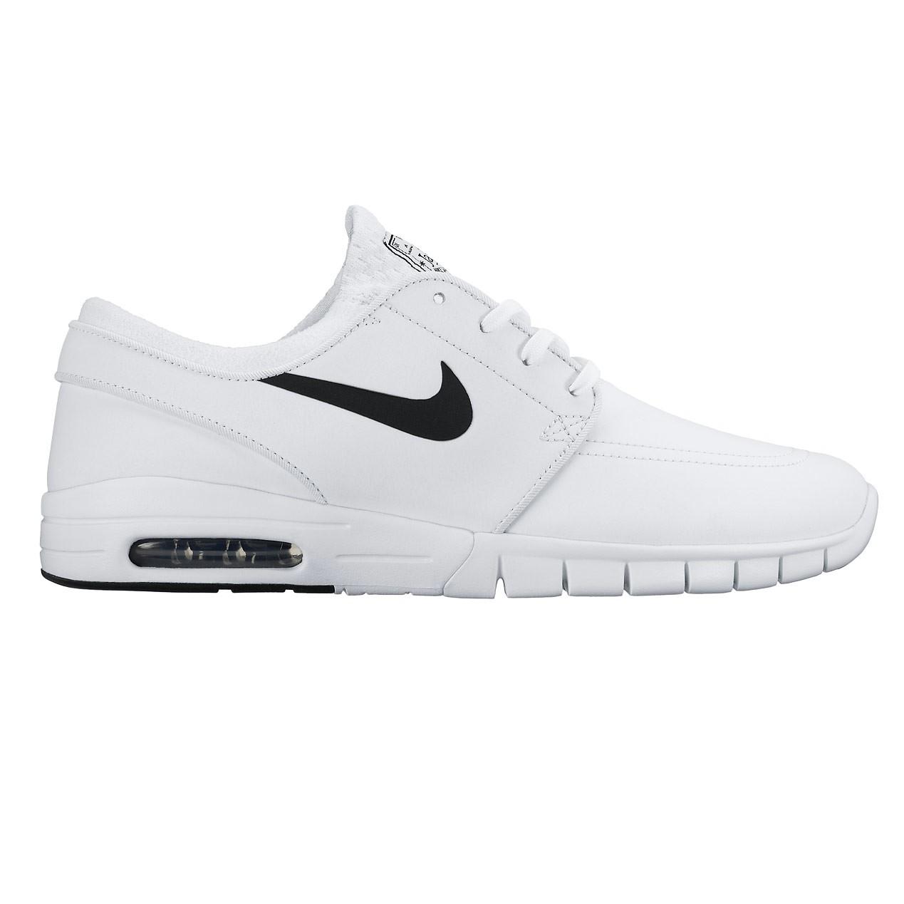 Tenisky Nike SB Stefan Janoski Max Suede white/black