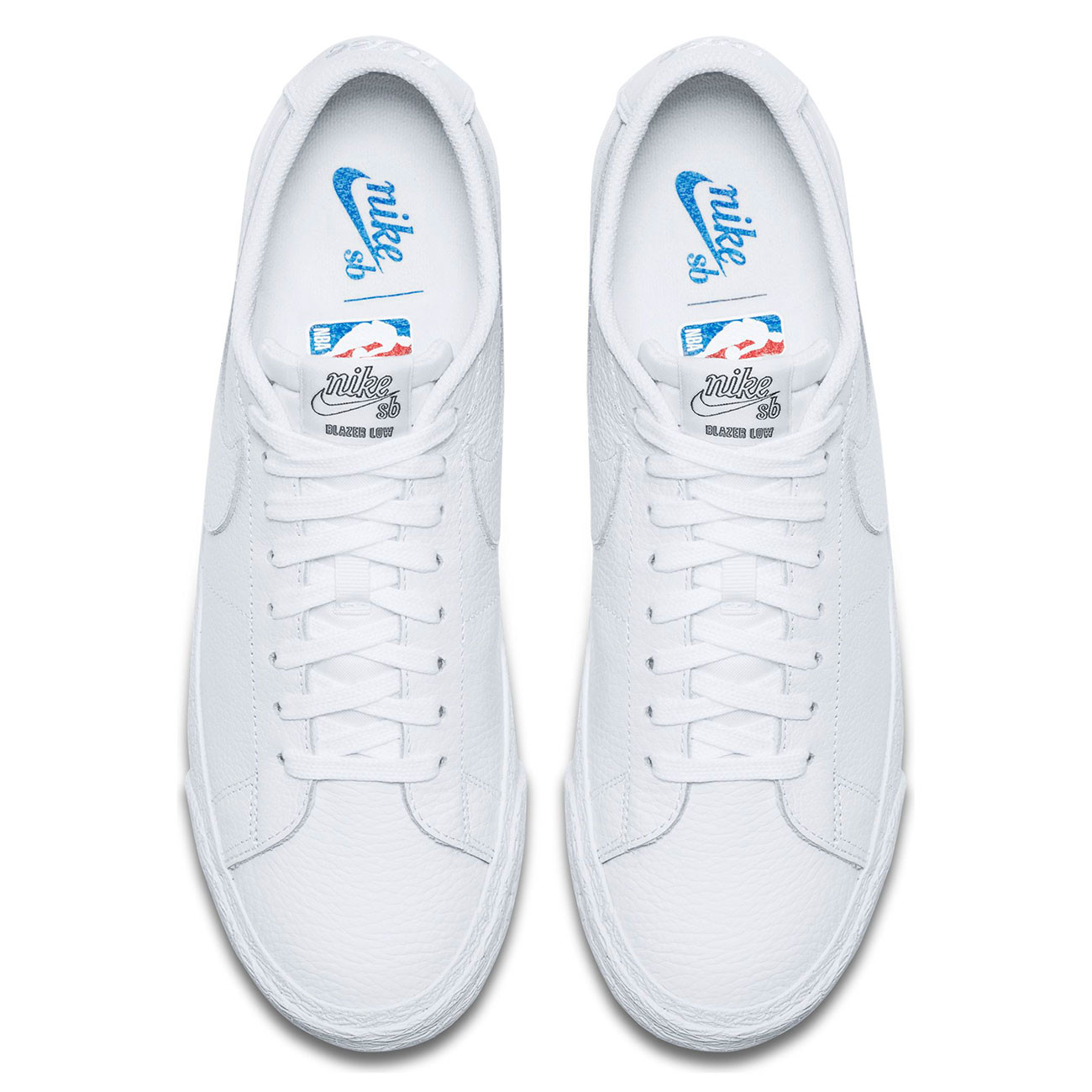 4ae4672bccd8 Sneakers Nike SB Zoom Blazer Low Nba white white-rush blue-unvrst ...
