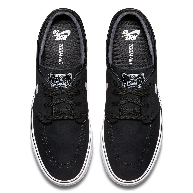 sneakers nike sb zoom stefan janoski black white. Black Bedroom Furniture Sets. Home Design Ideas