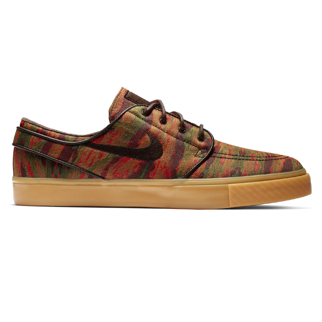new product f8842 874a7 Sneakers Nike SB Zoom Stefan Janoski Canvas multi-color velvet brown-gum yll    Snowboard Zezula