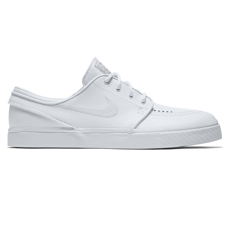Tenisky Nike SB Zoom Stefan Janoski Leather white/white-wolf grey