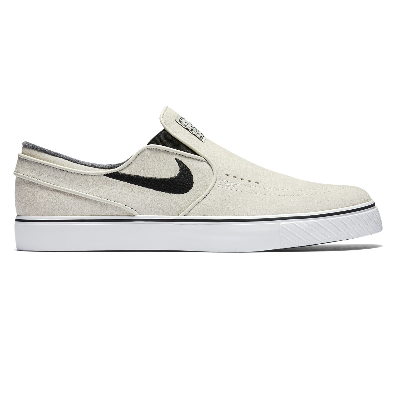 Tenisky Nike SB Zoom Stefan Janoski Slip light bone/black-white