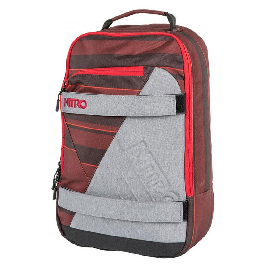 Batoh Nitro Axis red stripes