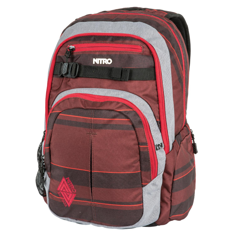 Batoh Nitro Chase red stripes