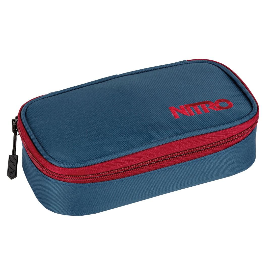 Školní pouzdro Nitro Pencil Case blue steel