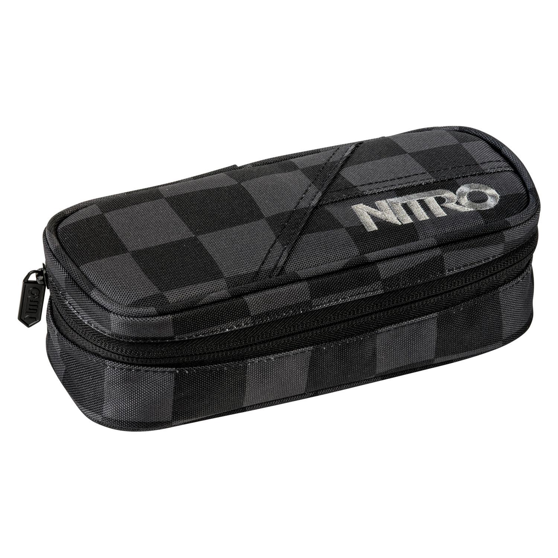 Školní pouzdro Nitro Pencil Case checker
