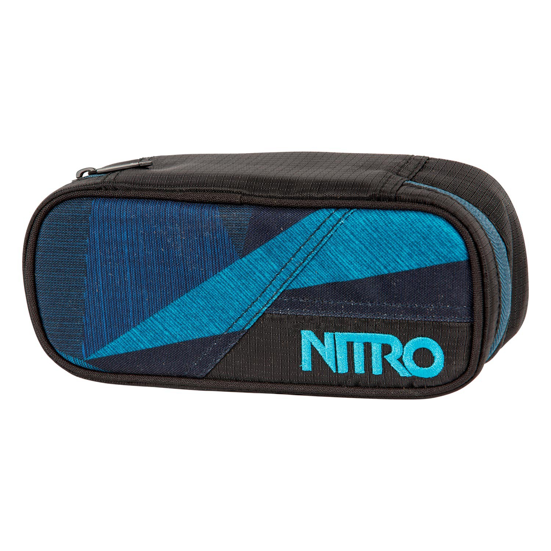 Školní pouzdro Nitro Pencil Case fragments blue